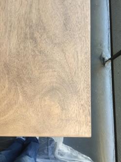 220 grit sanding